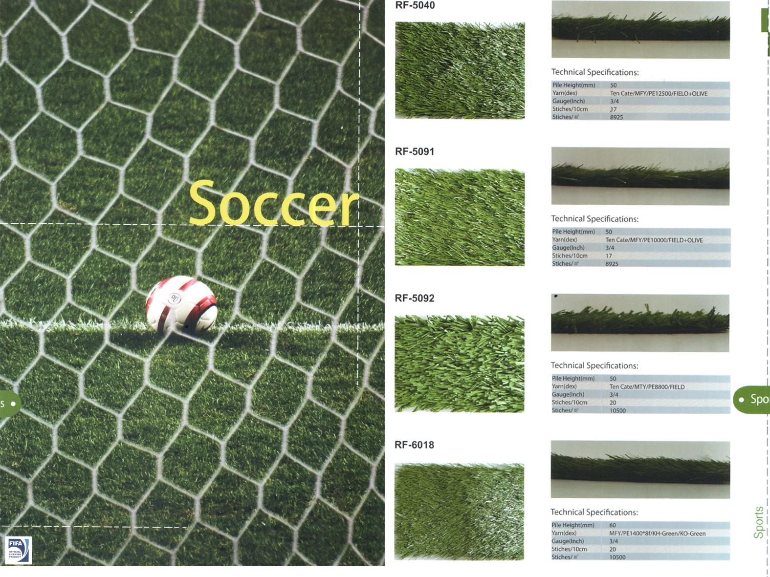 Thảm cỏ trải sân trải sân bống đá